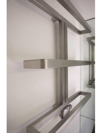 Aeon Gallant Stainless Steel Towel Radiator Detail