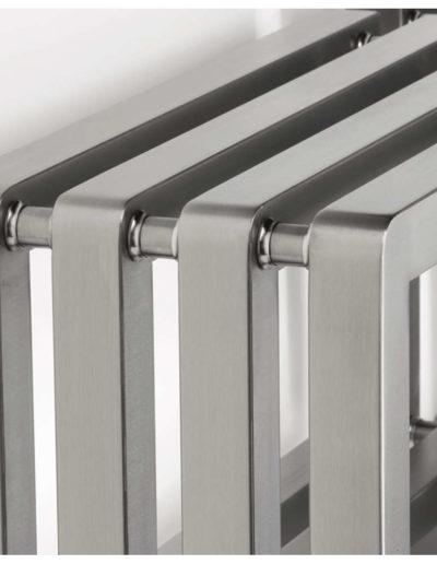 Aeon S-Type Designer Towel Radiator Detailing