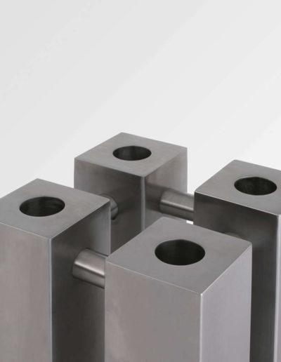 Aeon Stanza Stainless Steel Radiator Detailing
