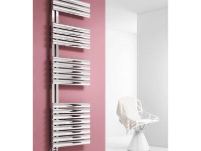 Reina Scalo Polished Designer Towel Radiator