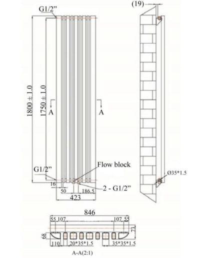 DRS Padua 1800 Technical