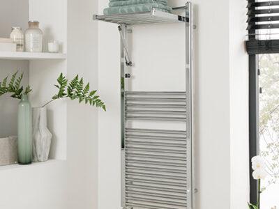 Aestus Duo Designer Towel Rail