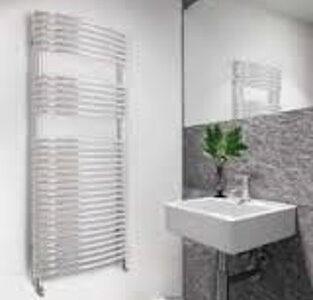 Zehnder Sfera Bow Designer Towel Rail