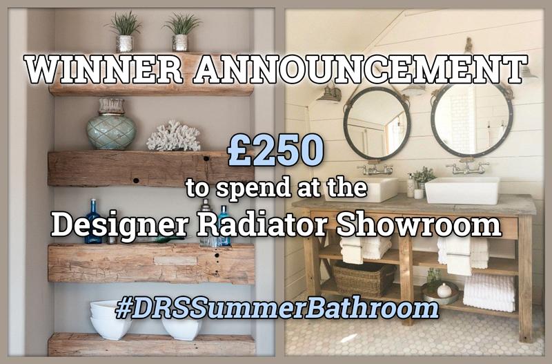 WINNER ANNOUNCEMENT! CREATE YOUR PERFECT SUMMER BATHROOM