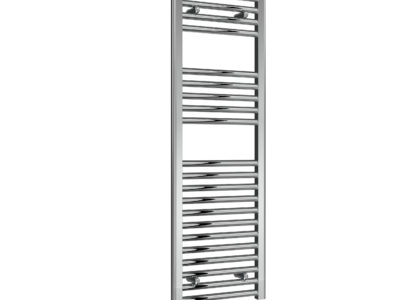 Reina Diva towel radiator on white background