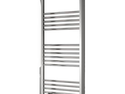 Reina divale towel rail on white background